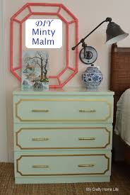 Malm Ikea Nightstand Minty Malm Ikea Hack Calling It Home