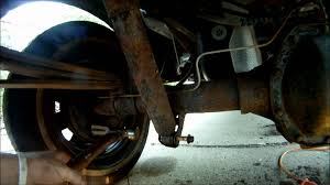 2001 ford ranger rear shock replacement