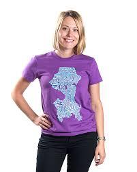 Seattle Neighborhood Map by Seattle Neighborhoods Map Women U0027s T Shirt