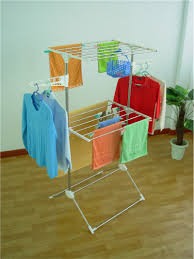 Hanging Clothes Rack From Ceiling Fascinating Drying Clothes Rack 32 Clothes Drying Rack Walmart