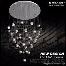 Led Pendant Light Fixtures Large Led Pendant Light Fixture For Hotel Villa Polished Chrome