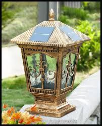 Outdoor Column Light by Images Of Outdoor Pillar Lights Garden And Kitchen