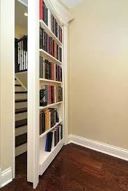bookcase hidden door bookshelf diy hidden bookcase door style