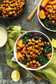 Produce Definition Sweet Potato Chickpea Buddha Bowl Minimalist Baker Recipes