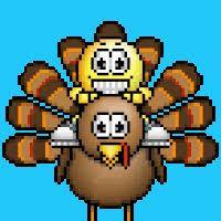 axe turkey animation animations animated happy