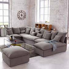 canapé style industriel canape angle maison du monde 6 salon style industriel