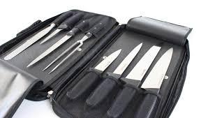malette de couteaux de cuisine pas cher malette de couteaux professionnels 4 faces bargoin pour hôtellerie