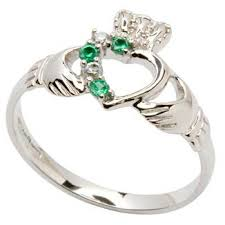 claddagh wedding ring sets silver claddagh part set ring