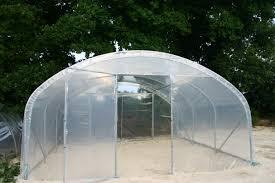 serre tunelle de jardin serre tunnel à pieds droits izella 5mx16m frais de port 60 à