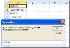 Change Pivot Table Data Range Change Data Source For All Pivot Tables Contextures