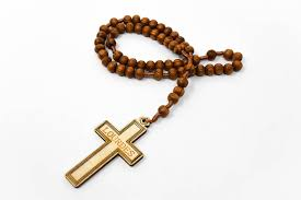 wooden rosary direct from lourdes wooden rosary on cord with a lourdes