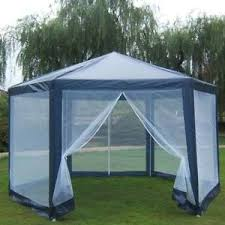 gazebo mosquito netting gazebo mosquito net large screen house outdoor hex cing