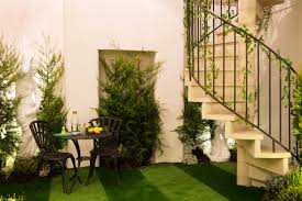 rent this pantone designed greenery themed home on airbnb