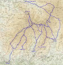 Nevada Map La Sierra Nevada Map Afputra Com