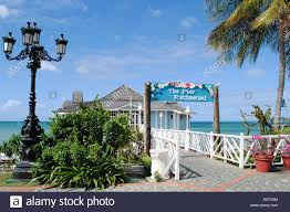 sandals halcyon beach st lucia stock photo royalty free image