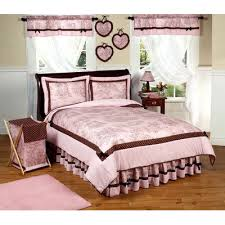 Airplane Toddler Bedding Jojo Pink And Brown French Toile And Polka Dot Decorating Kids Rooms