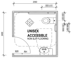 Disabled Bathroom Design How Big Or What Size Is A Disabled Accessible Toilet Shower