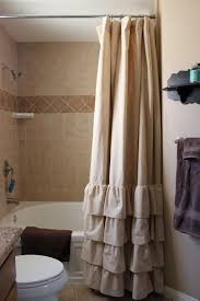 veratex vintage ruffle shower curtain bathroom pinterest
