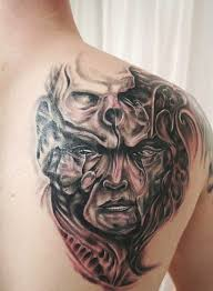 devil mask tattoo design for men photo 5 2017 real photo