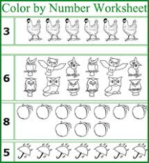 pre k worksheets numbers worksheets