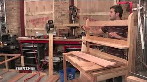 how to make a potting bench w duane johnson youtube