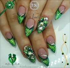 green glitter nail designs images nail art designs
