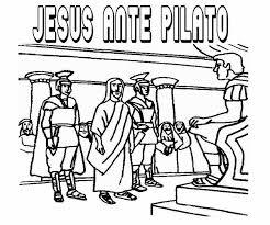imagenes de jesus ante pilato el renuevo de jehova jesus ante pilato imagenes para colorear