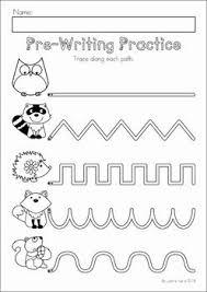 fine motor monster tracing lines worksheet free preschool