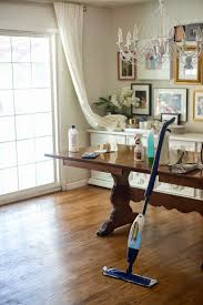 Can You Refinish Laminate Floors Domestic Fashionista Easy Hardwood Floor Care How To Clean And