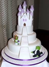 shrek u0026 fiona wedding cake cakecentral com