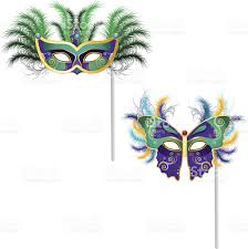 mardi gras ornaments mardi gras venetian mask ornaments 7 stock vector more