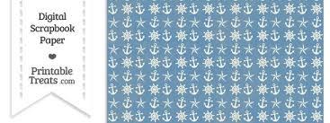 nautical wrapping paper vintage blue nautical digital scrapbook paper printable treats