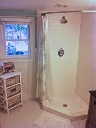 easy diy shower stall curtain rod installations u2014 the decoras