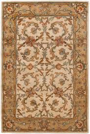 Brown And Beige Area Rug Traditional Area Rugs Heritage Collection Safavieh