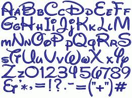lettering styles alphabet bubbles circus carnival numbers and
