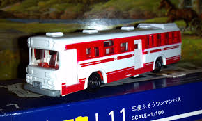 tomica mitsubishi fuso my tomica diecast scale model bus u0026 coach collection