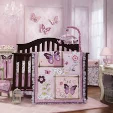 Purple Nursery Bedding Sets Purple Butterfly Baby Bedding Sets Http Digdeeper Us