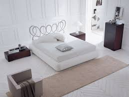 White Modern Bedroom Furniture White Leather Side Table Drawer - White leather contemporary bedroom furniture