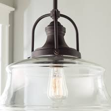 schoolhouse bell pendant shades of light