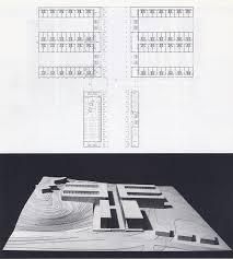 53 chieti casa dello studente 1976 plan du 1c2b0 etage et vue de