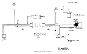 dixon ztr 311 1988 parts diagram for wiring assembly