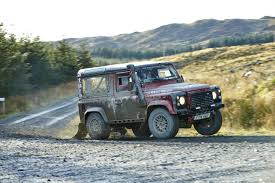 new land rover defender coming by 2015 photo feature land rover defender challenge borders hill rally