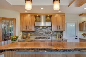 birch kitchen island contemporary kitchen with quartz countertops and birch