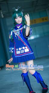 Halloween Costumes China Asia Fashion Chinese Ethnic Cosplay Halloween Costumes