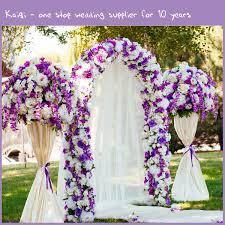 Chiffon Ceiling Draping White Sheer Voile Wedding Decorative Draping Fabric Kaiqi Wedding