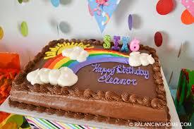 trolls birthday party balancing home with megan bray