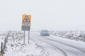 severe cold warning issued as snow and 4c temps forecast for the