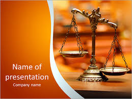 ppt templates for justice libra as a symbol of justice and balance powerpoint template