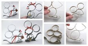 diy toilet paper roll mice ornament usefuldiy