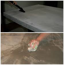 how to clean concrete table top diy concrete table top chic and durable